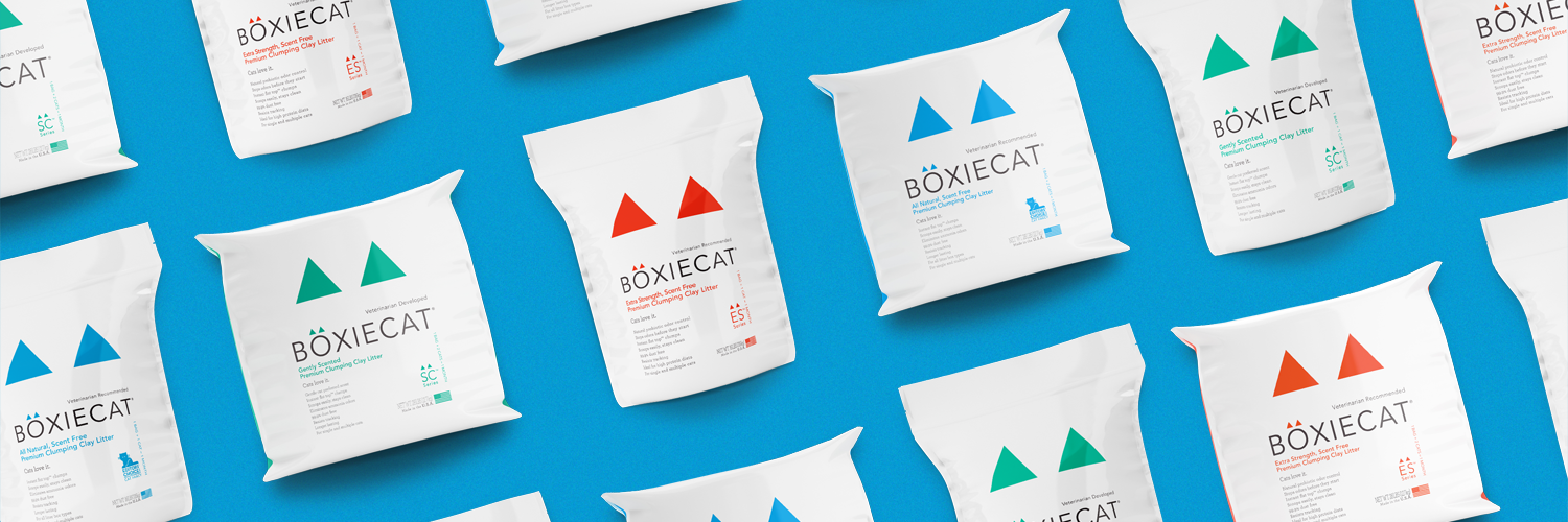Boxie Cat packaging